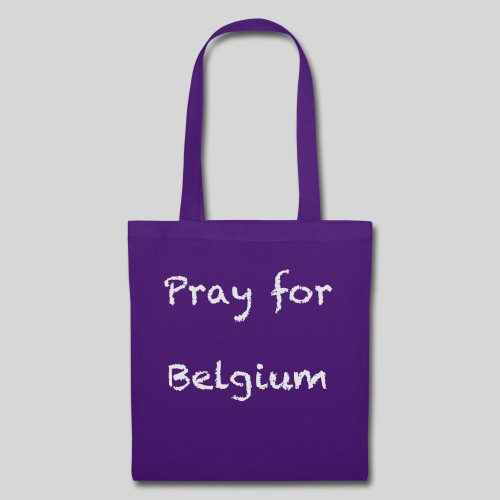 Pray for Belgium - Tote Bag