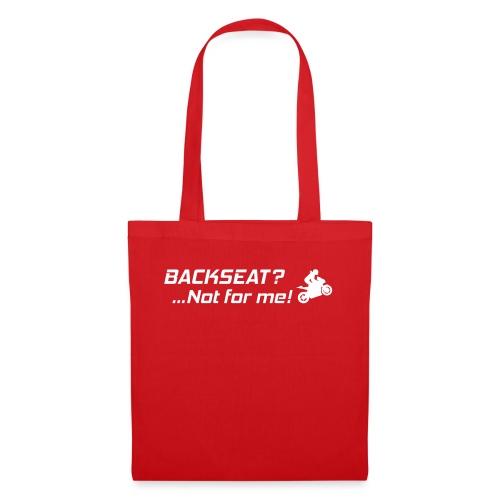Backseat? Not for me! - Kangaskassi