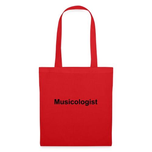 Musicologist - Stoffbeutel