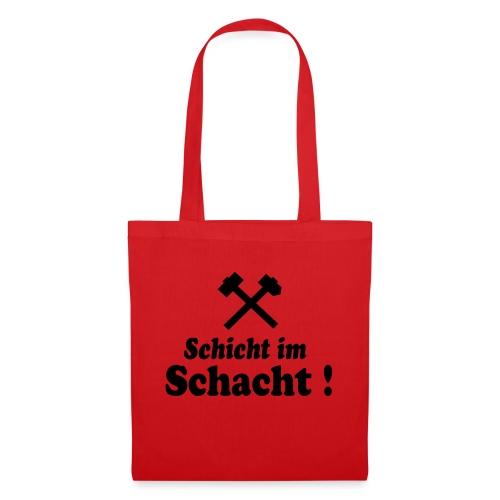 Schicht im Schacht - Hammer und Eisen - Stoffbeutel