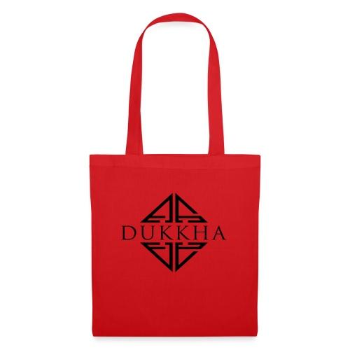 Dukkha Logo Seul Noir - Sac en tissu