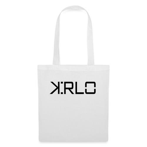 Kirlo Logotipo Negro - Bolsa de tela