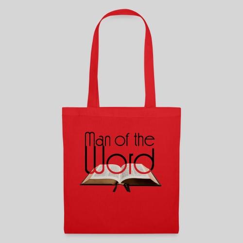 man of the Word - Mann des Wortes - der Bibel - Stoffbeutel