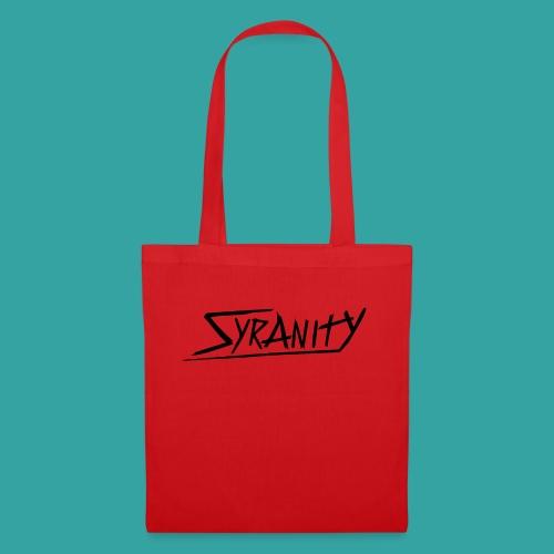 Syranity Blue Shirt Black Pressing (Boys) - Tote Bag