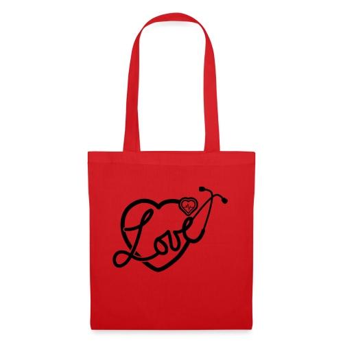 Heathcare Heart Design - Tote Bag