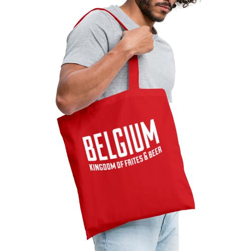 Belgium kingdom of frites & beer - Tote Bag