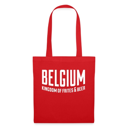 Belgium kingdom of frites & beer - Tote Bag