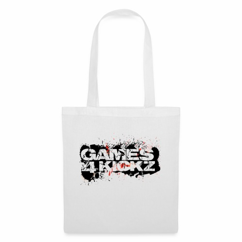 Games4Kickz Logo Splattered Background - Tote Bag