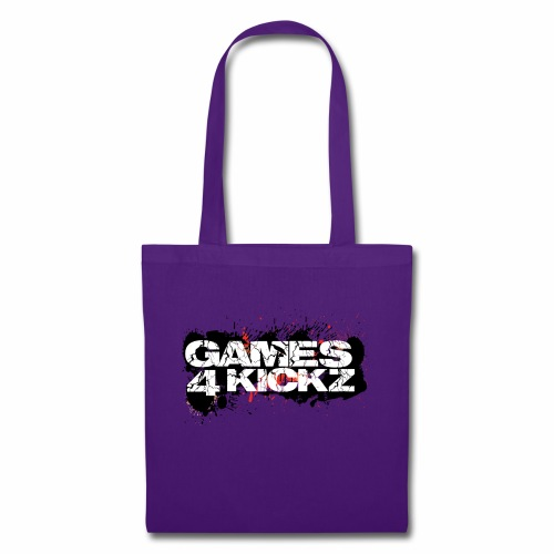 Games4Kickz Logo Splattered Background - Tote Bag