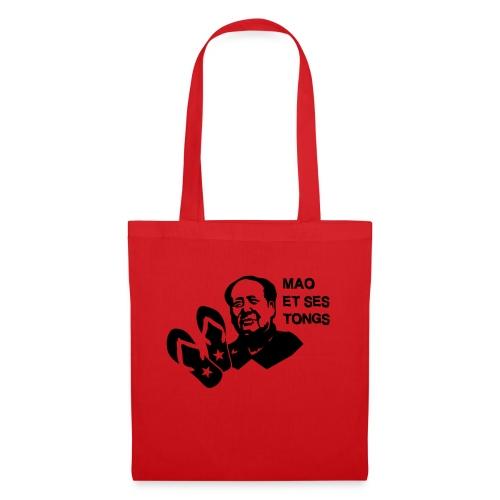 MAO et ses tongs - Tote Bag