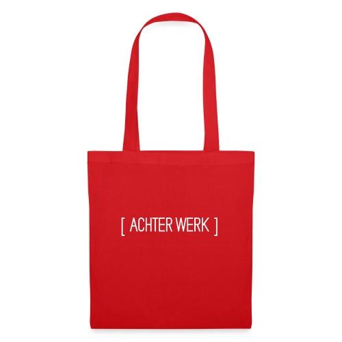Achter:Werk T-shirt - Tas van stof