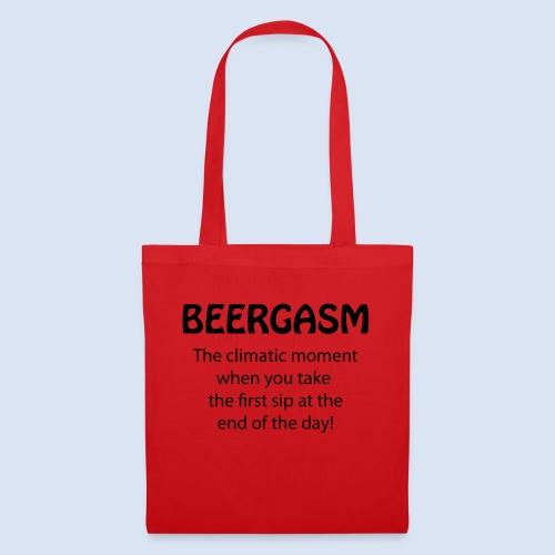 Beergasm - All about Beer - Stoffbeutel