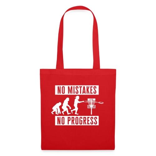 Disc golf - No mistakes, no progress - White - Kangaskassi