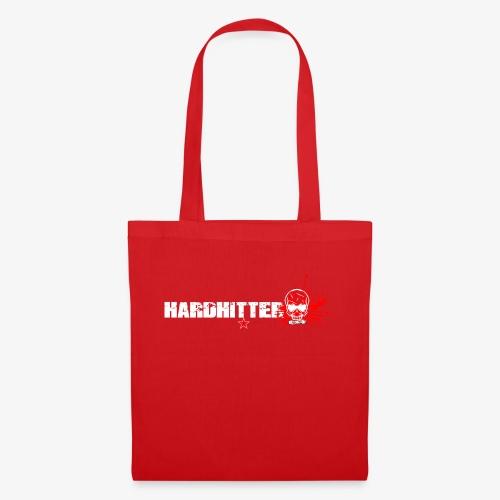 Hardhitter Logo für dunklen Hintergrund - Stoffbeutel