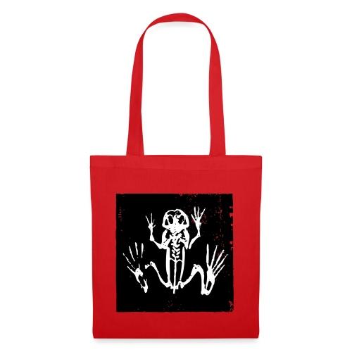 Museum Frog Skeleton - Tote Bag
