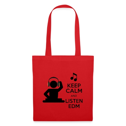keep calm and listen edm - Tote Bag