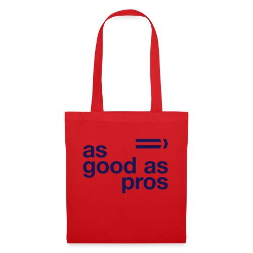 As Good As Pros Blue Navy - Tote Bag