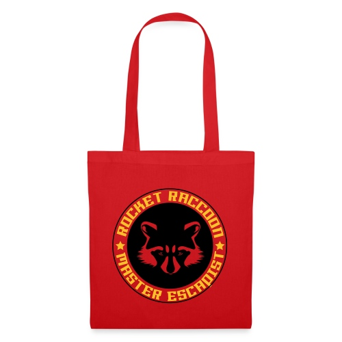 Rocket raccoon logo full - Tote Bag