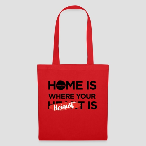 Home is where your Heimat is - Stoffbeutel
