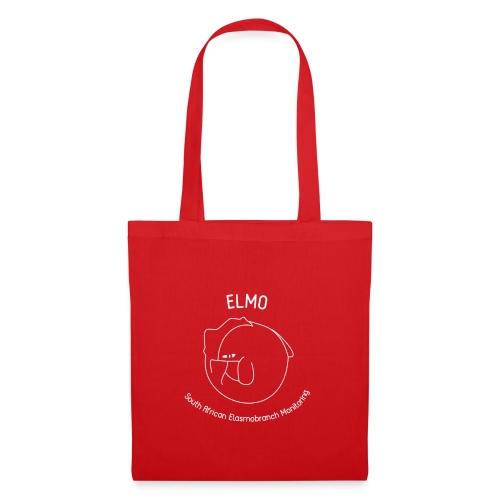 elmo logo large white - Tote Bag