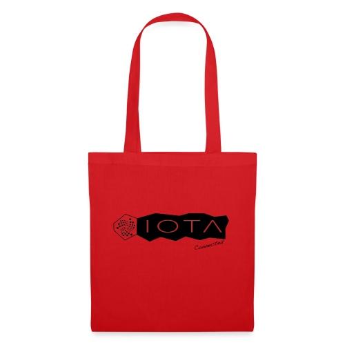 Iota connected black - Tote Bag