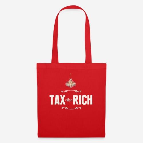 Tax the Rich, vit - Tygväska