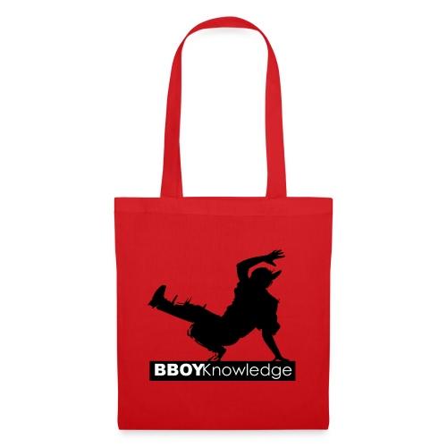 Bboy knowledge noir & blanc - Tote Bag
