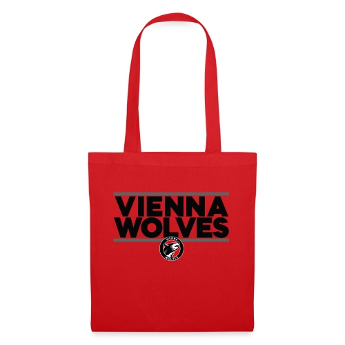 Vienna Wolves Shirt Dunkel-Grau - Stoffbeutel