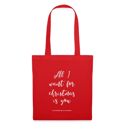 All I want_ - Tas van stof