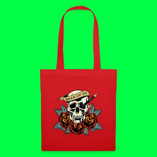 draw or die - Tote Bag