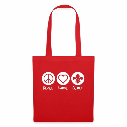 Peace Love Scout - Tote Bag