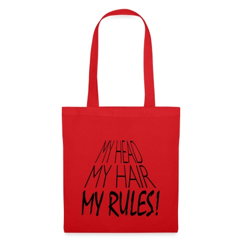 My Head My Hair My Rules - Tote Bag