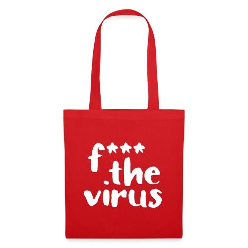 f*** the virus Stern-Edition - Stoffbeutel