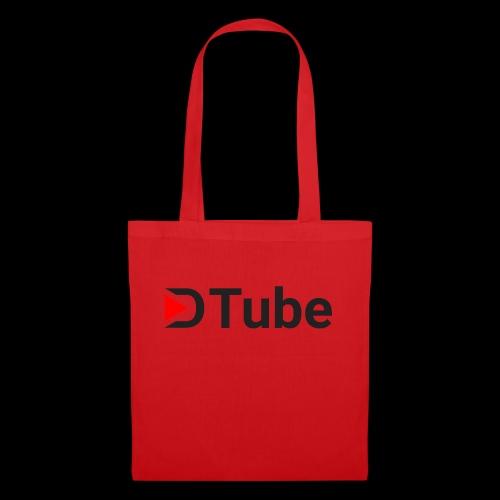 DTube logo - Stoffbeutel