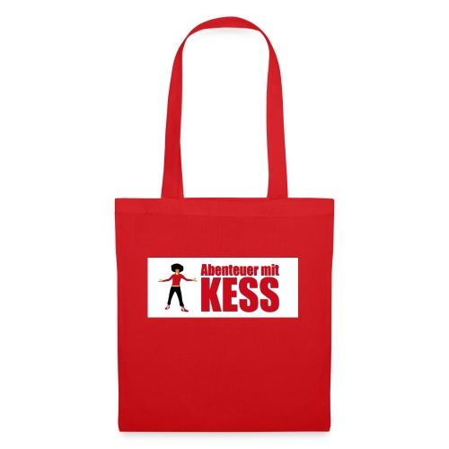 KESS-Logo weiß - Stoffbeutel