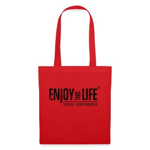 Enjoy this Life®-Classic Black Pascal Voggenhuber - Stoffbeutel