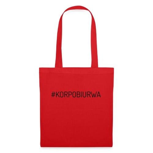 Wlepa Korpo Biurwa - Torba materiałowa