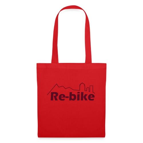 logo Re-bike skyline ross - Borsa di stoffa