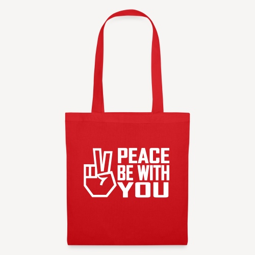 PEACE BE WITH YOU - Tote Bag