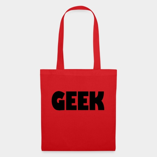 GEEK Text Logo Black - Tote Bag