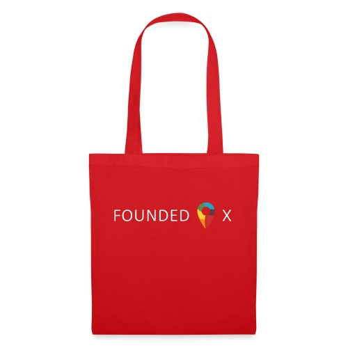 FoundedX logo white png - Tote Bag