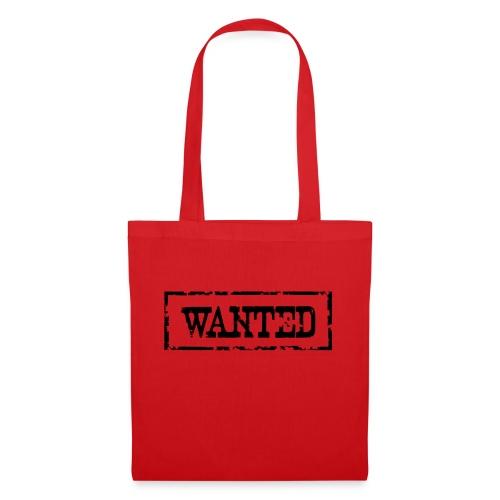 Wanted Frame Rand Rahmen Polizei Police - Stoffbeutel