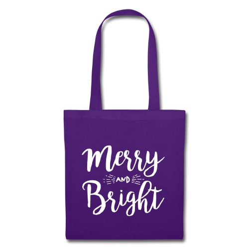Merry and Bright - Stoffbeutel