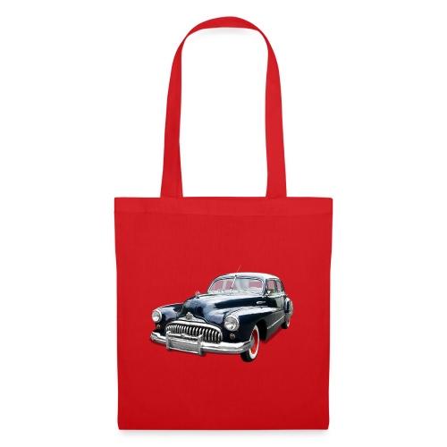 Classic Car. Buick zwart. - Tas van stof