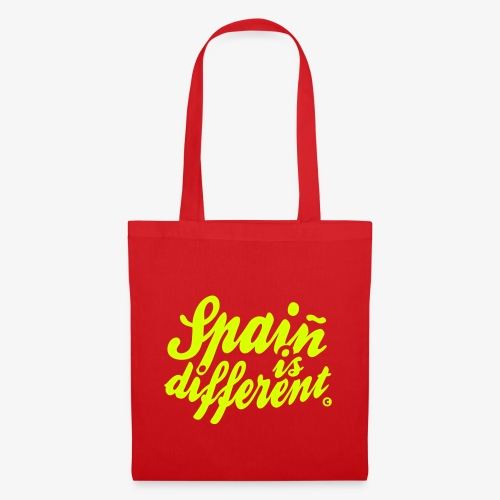 Spain is different con ñ - Bolsa de tela