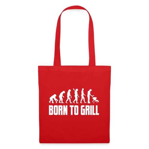 born to grill evolution - Stoffbeutel