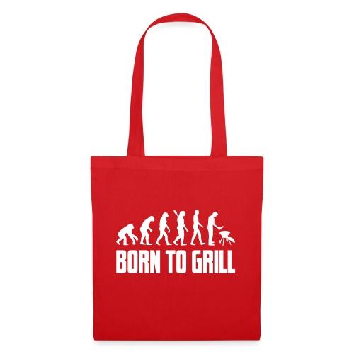 born to grill evolution - Stoffbeutel