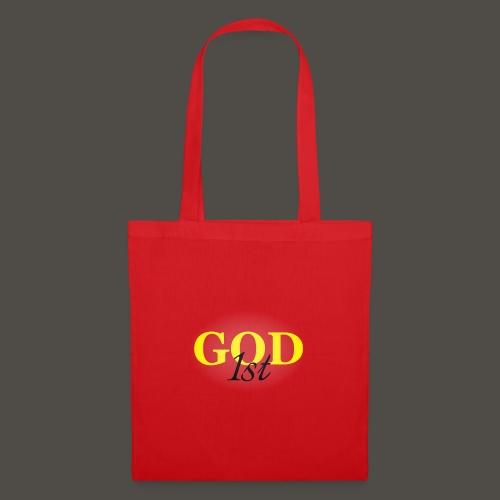 God 1st V09 D191029FMi Schriftzug schwarz - Stoffbeutel