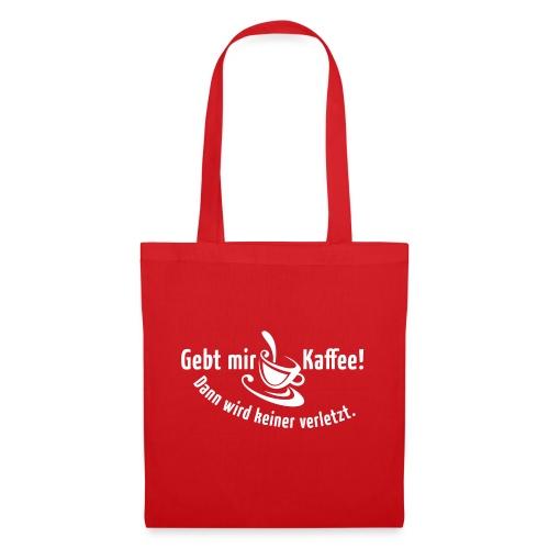 Kaffee Koffein Montag früher Vogel Morgen Latte - Tote Bag