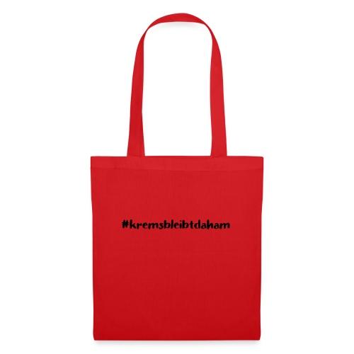hashtag kremsbleibtdaham - Stoffbeutel